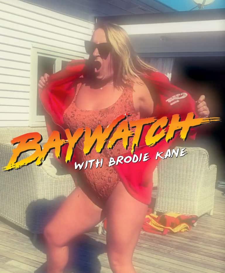 Broadie Kane Baywatch Parody