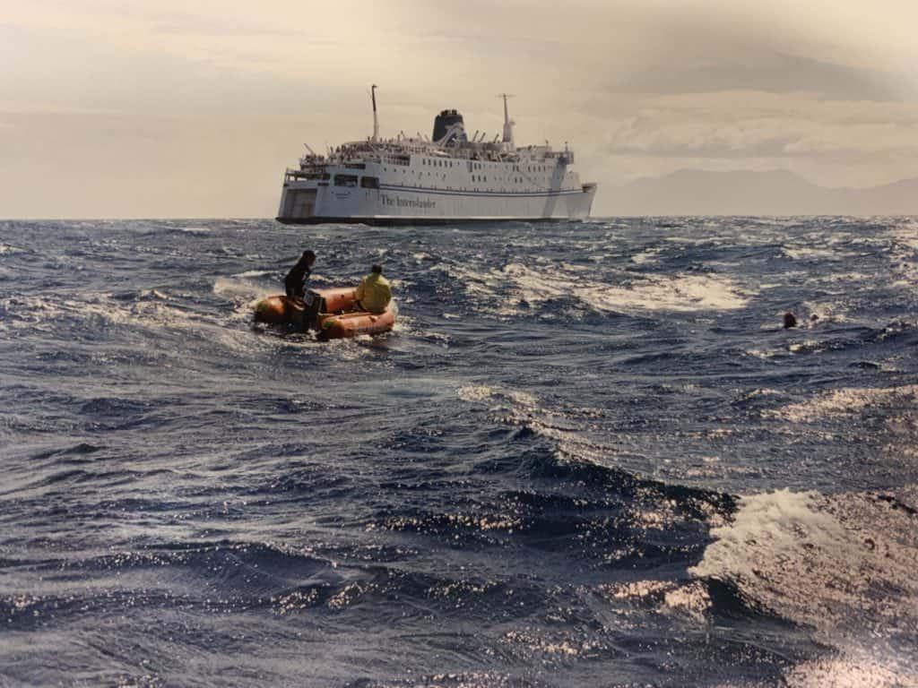Cook Strait crossing