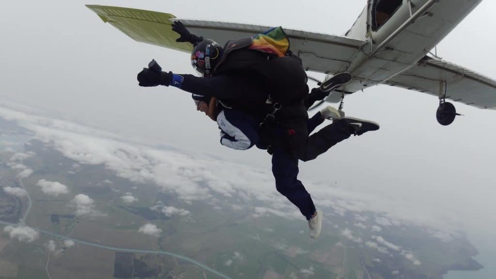Brodie Kane Skydive Mt Cook